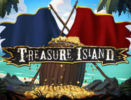 Play Treasure Island in our Bitcoin Casino