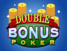 Play Double Bonus Poker in our Bitcoin Casino