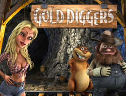 Play Gold Diggers in our Bitcoin Casino