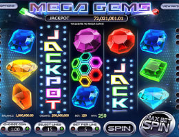 Играй в Mega Gems в нашем Bitcoin Казино
