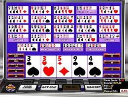 Mainkan Multi-hand All American Poker di Kasino Bitcoin kami