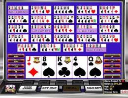 Mainkan Multi-hand Deuces Wild Poker di Kasino Bitcoin kami