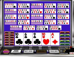 Play Multi-hand Double Jackpot in our Bitcoin Casino