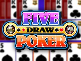 Mainkan Multi-hand Five Draw Poker di Kasino Bitcoin kami