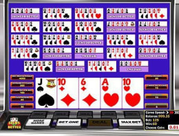 Play Multi-hand Jacks or Better in our Bitcoin Casino