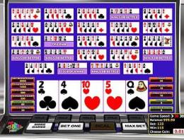 Play Multi-hand Joker Poker in our Bitcoin Casino