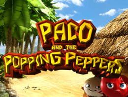 Play Paco and the Popping Peppers in our Bitcoin Casino
