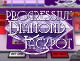 Play Progressive Diamond Jackpot in our Bitcoin Casino