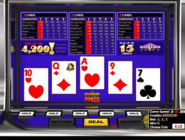 Play Pyramid Aces and Faces Poker in our Bitcoin Casino