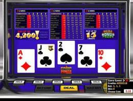 Play Pyramid Double Bonus Poker in our Bitcoin Casino