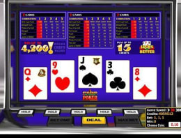 Play Pyramid Jacks or Better Poker in our Bitcoin Casino