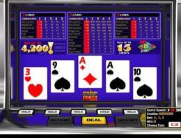 Play Pyramid Joker Poker in our Bitcoin Casino