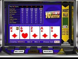 Play Tens Or Better in our Bitcoin Casino