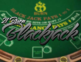 Play 21 Burn BlackJack in our Bitcoin Casino