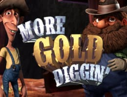 Play More Gold Diggin' in our Bitcoin Casino