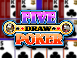 Играй в Multi-hand Five Draw Poker в нашем Bitcoin Казино