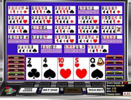 Play Multi-hand Joker Poker in our Bitcoin Casino