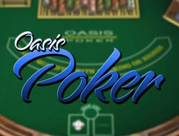 Play Oasis Poker in our Bitcoin Casino