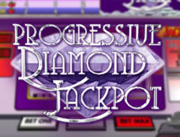 Play Progressive Diamond Jackpot in our Bitcoin Casino