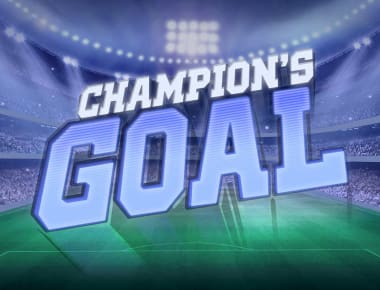 Play Champions Goal in our Bitcoin Casino