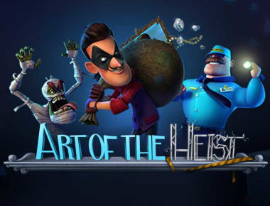 Play Art of the Heist in our Bitcoin Casino