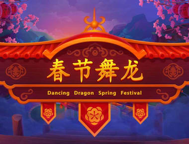 Play Dancing Dragon Spring Festival in our Bitcoin Casino