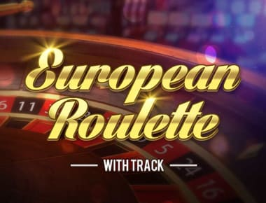 Play European Roulette With Track in our Bitcoin Casino