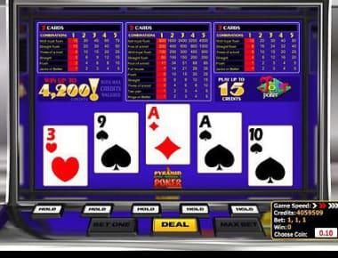 Bitcoin Casinomuzda Pyramid Joker Poker adlı oyunu oynayın