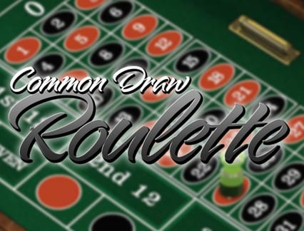 Play Common Draw Roulette in our Bitcoin Casino