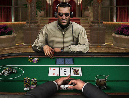 Play Hold Em Fold Em Poker in our Bitcoin Casino