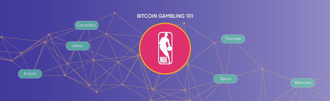 How to bet on the NBA with bitcoin