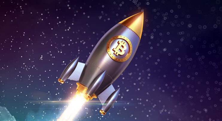 S2F suggests a rocketing BTC price