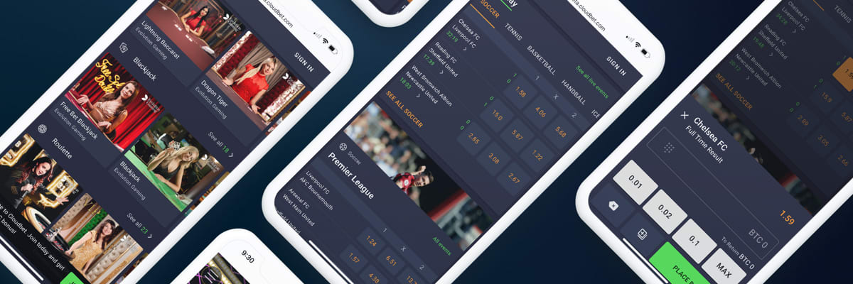 Cloudbet new platform