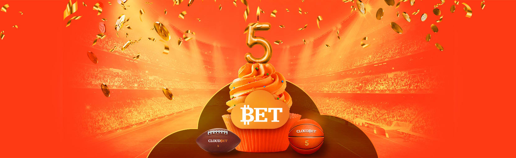 Cloudbet's 5th anniversary: win BTC for your creativity