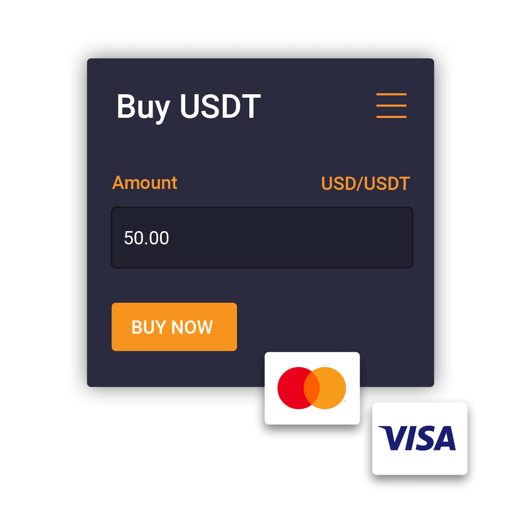 On-site card payment component