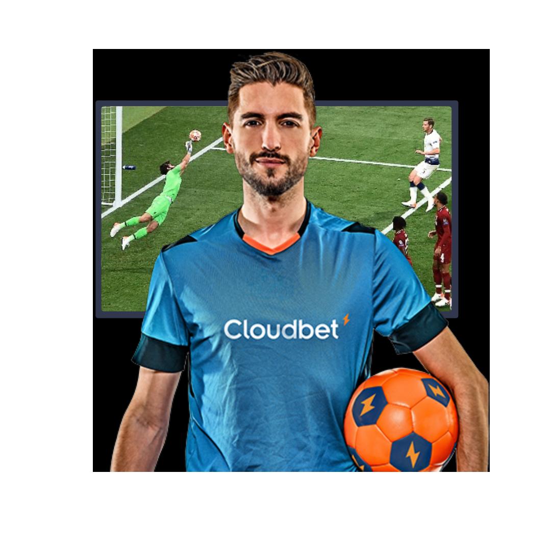 Cloudbet footballer