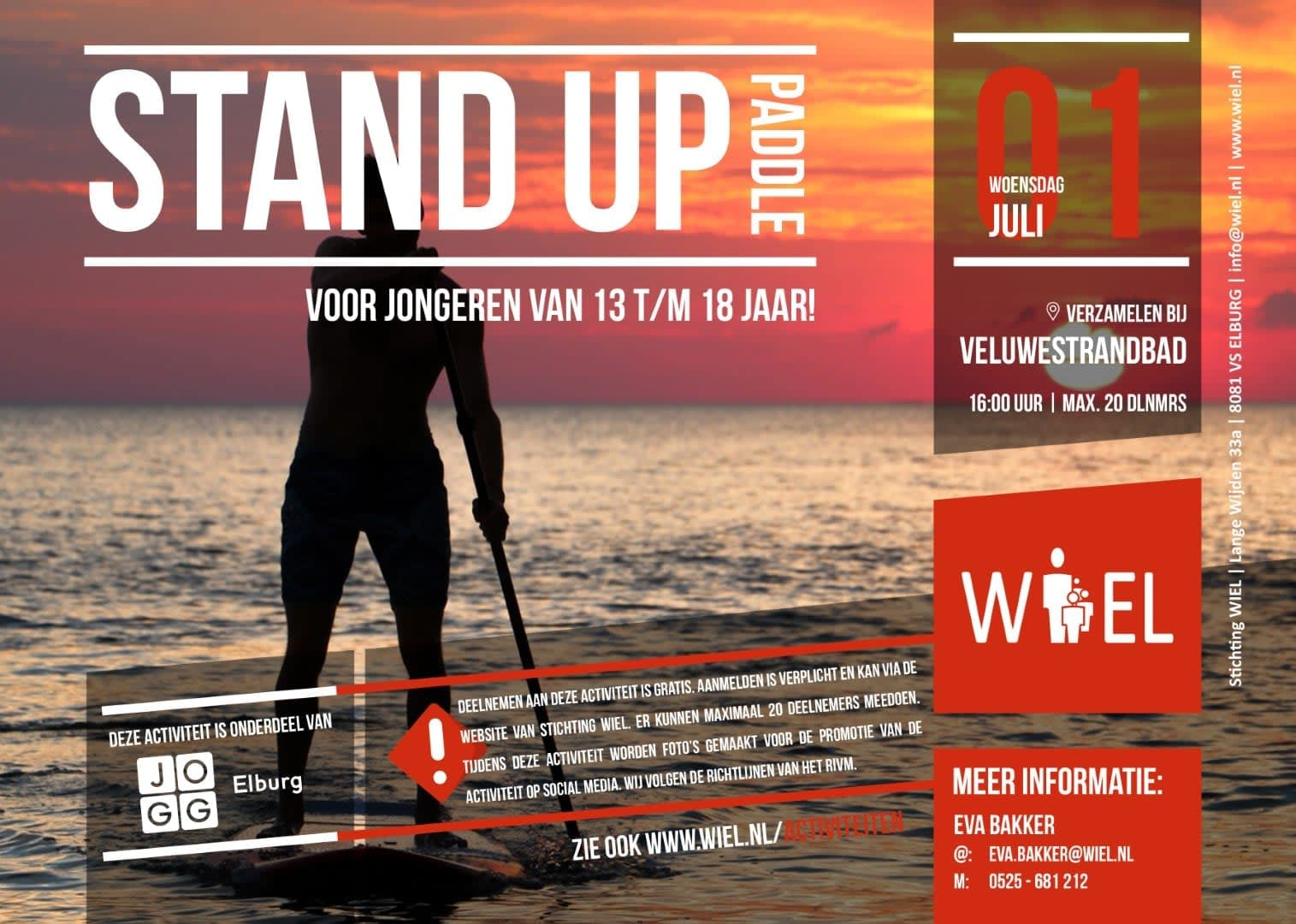 Stand Up Paddle - Stichting WIEL