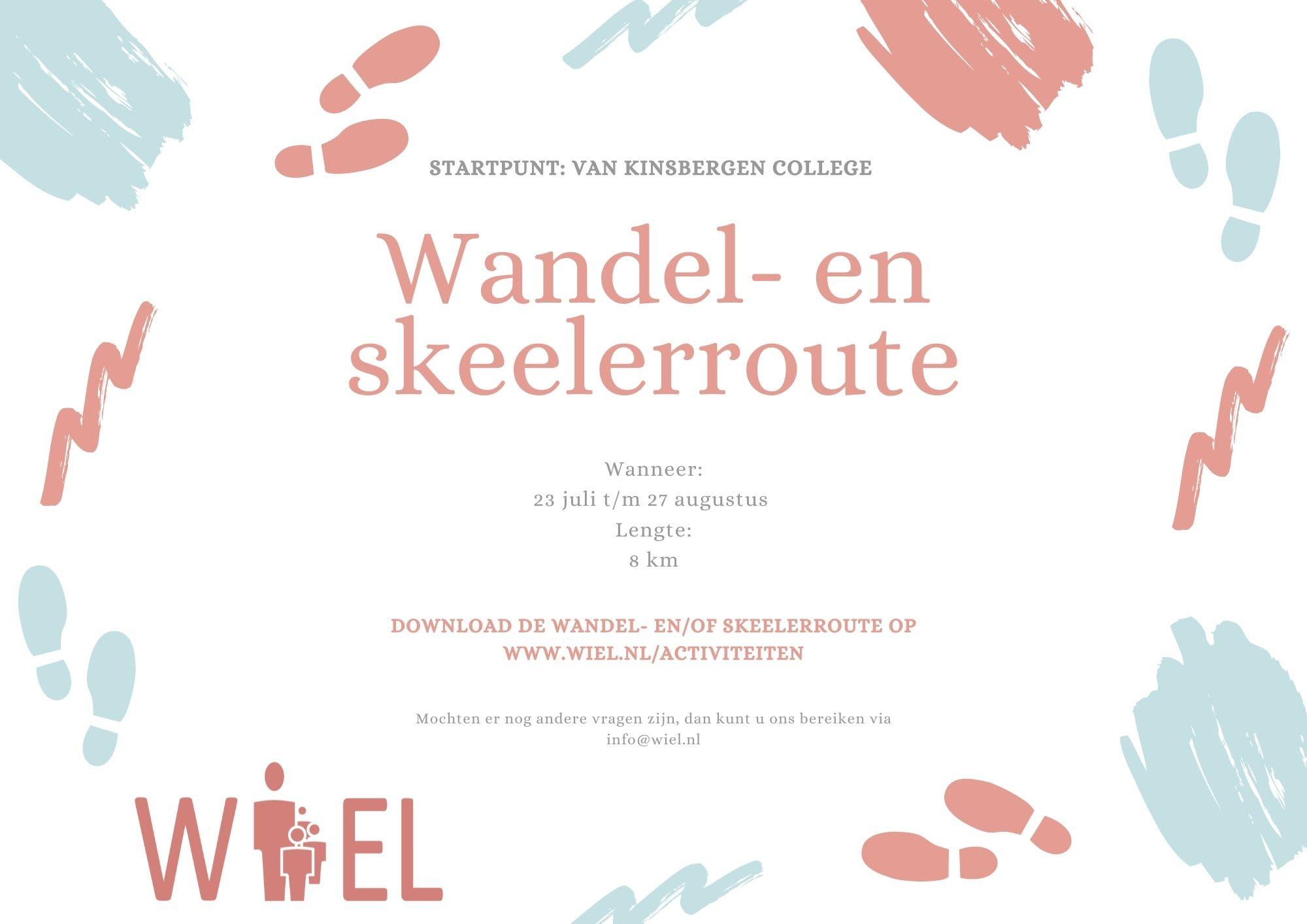 Wandel- en skeelerroute - Stichting WIEL