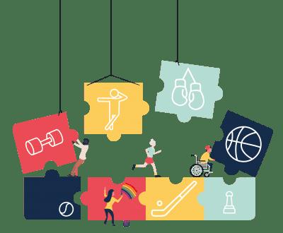 Regionale samenwerking inclusief sporten - Stichting WIEL