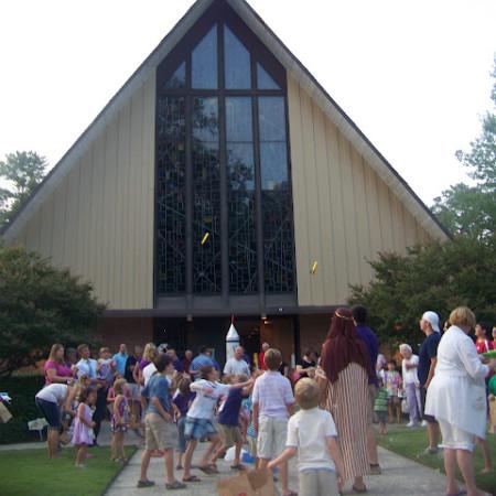Vacation Bible School at Bethel United Methodist Church in Columbia, SC.