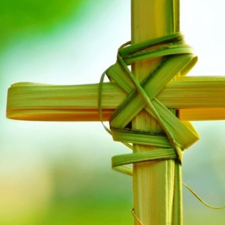 Palm Sunday at Bethel Methodist Columbia.