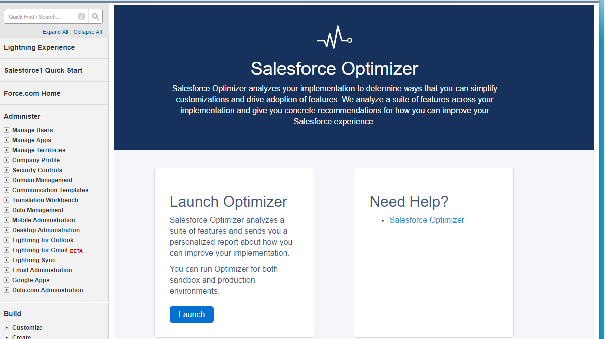 Launching Optimizer