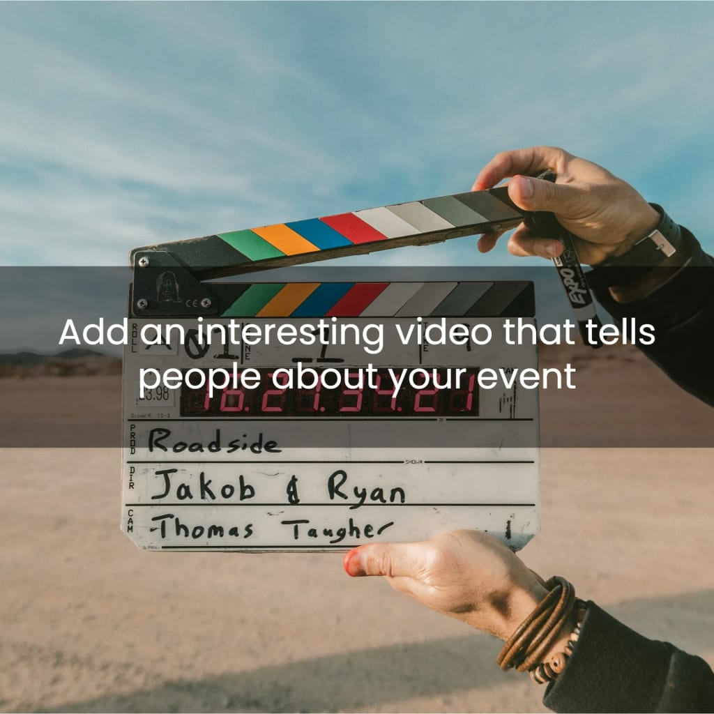 Add a video to your landing page for increased engagement