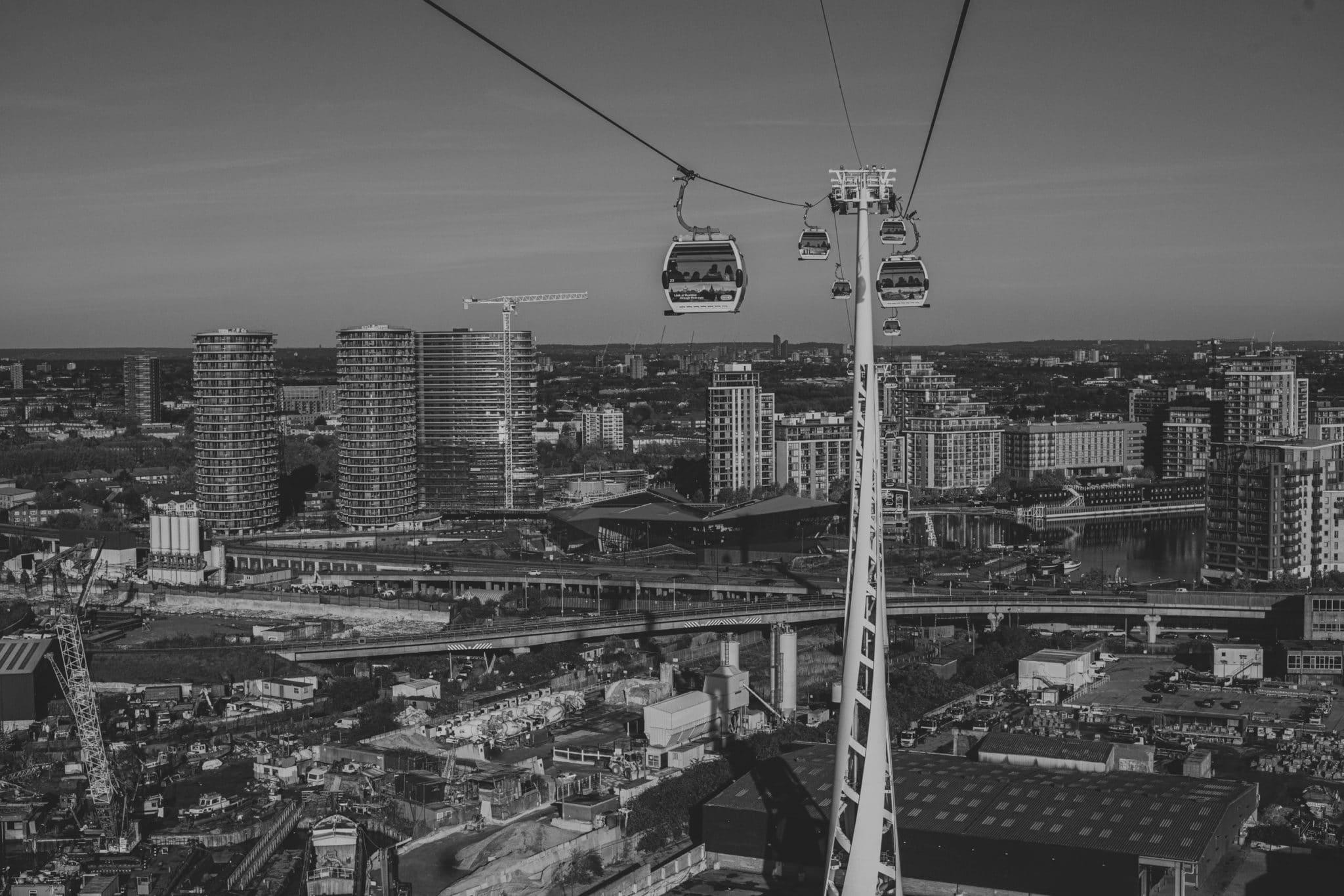 Kolej linowa nad Londynem