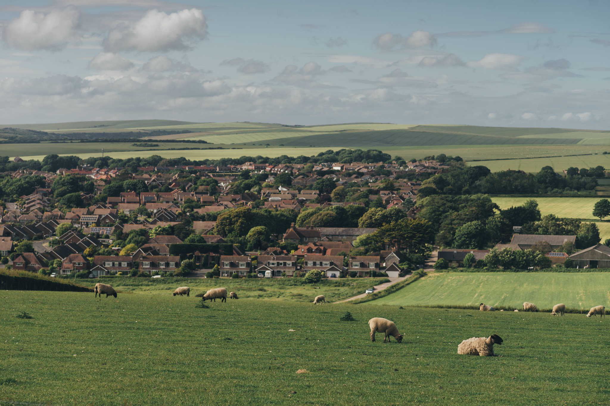 the village close to the seven sisters
