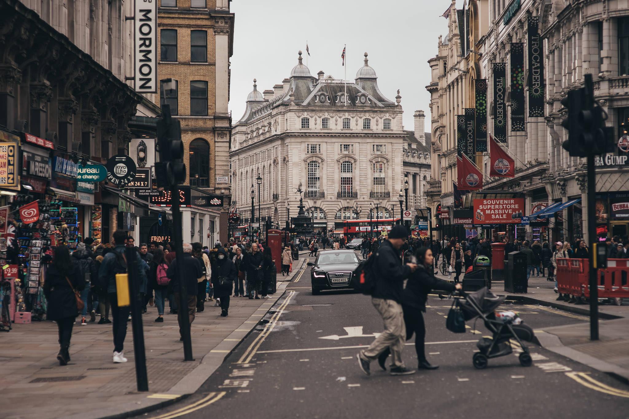 Smutny Londyn