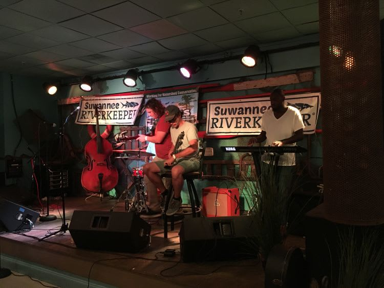 Dirty Bird and the Flu play at Second Annual Suwannee Riverkeeper Songwriting Contest