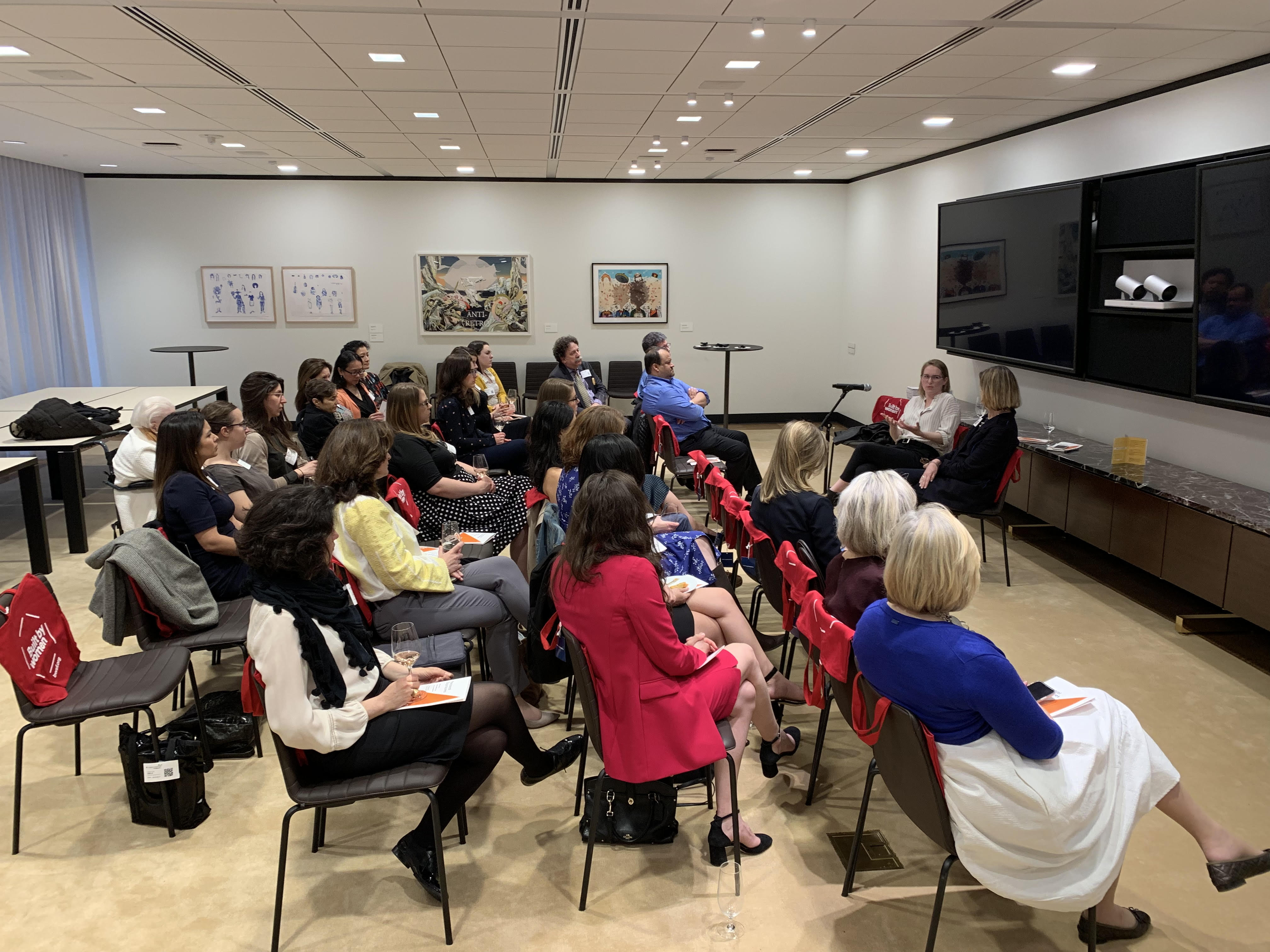 Inaugural Friends event at the Ford Foundation, May 2019