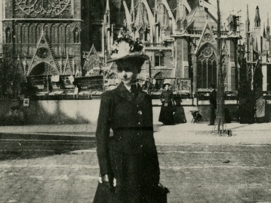 Pioneering Architect Julia Morgan, Paris, France, 1901
