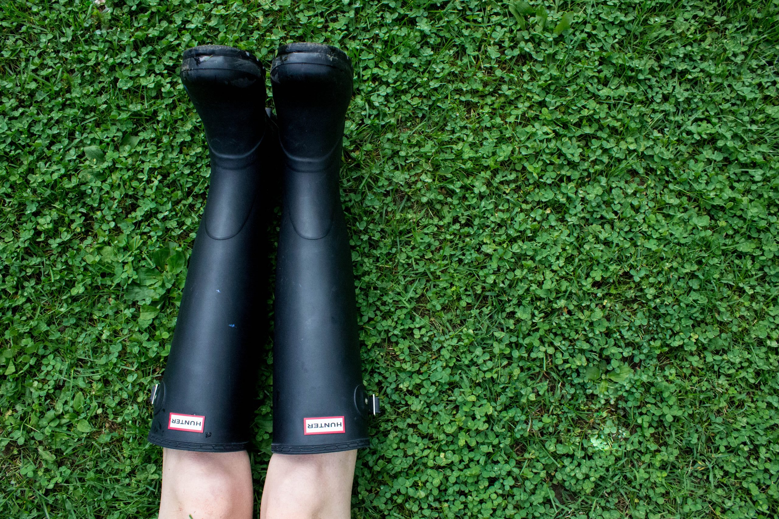 Wellington boots or wellington burts